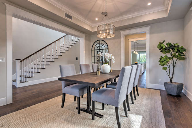 Opulent Comfortable Dining